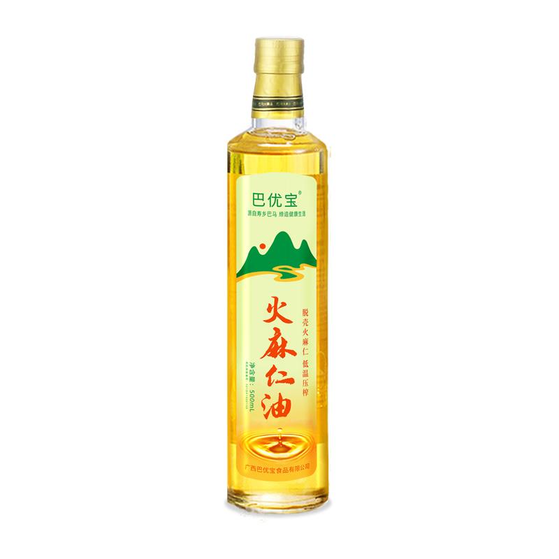 广西巴马火麻仁油(脱壳 低温压榨),世界长寿之乡巴马特产